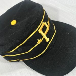 Pittsburgh Pirates Vintage-style Pillbox Hat 7 3/8
